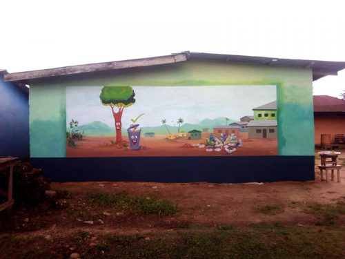 Wall paintings in Liati Wote