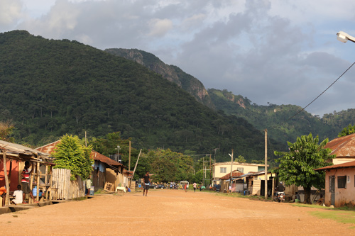 Liate Wote village in the Volta region