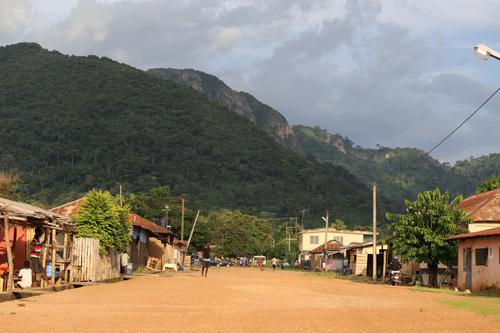 Liati Woti village, région de la Volta, Ghana