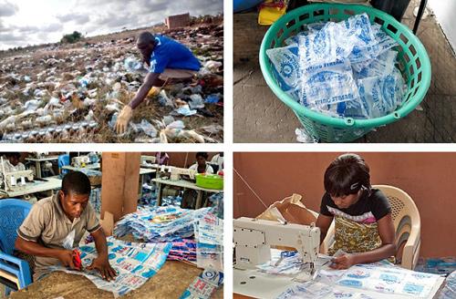 Trashy bag process [Source: Trashybags.org]